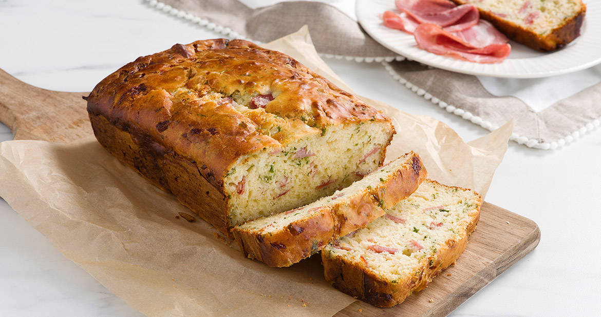 Capocollo and Asiago Cheese Bread