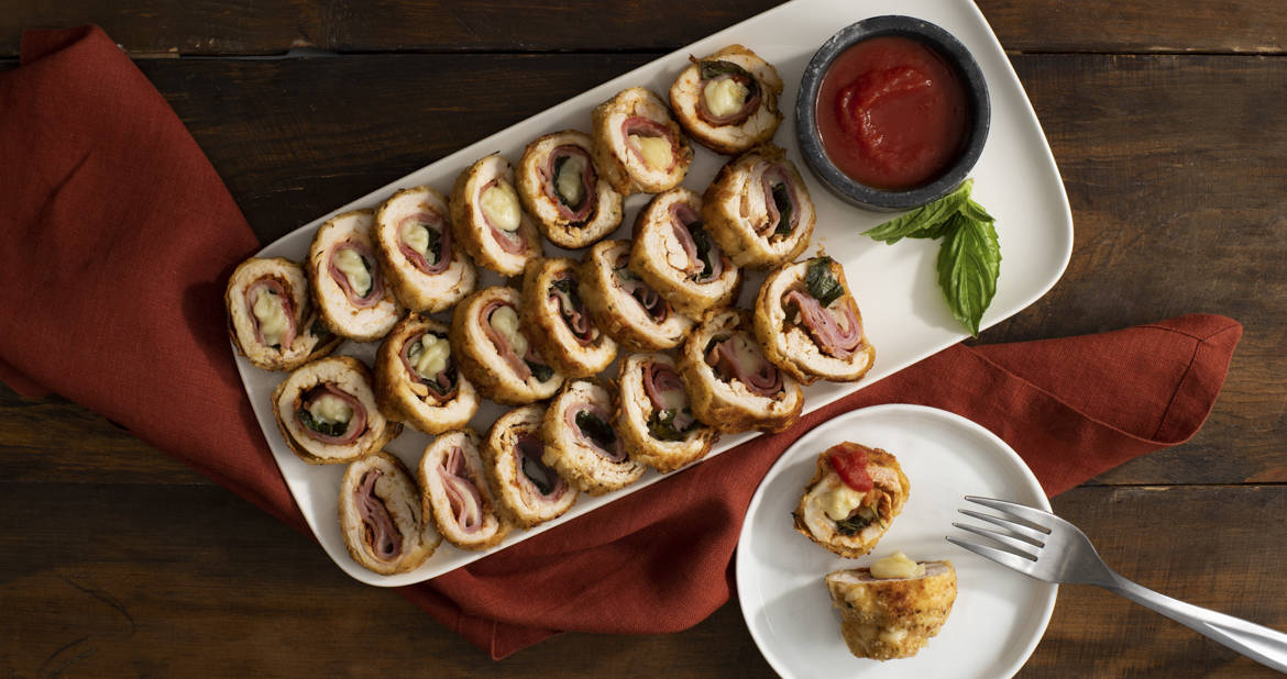 Chicken Capocollo Roulade