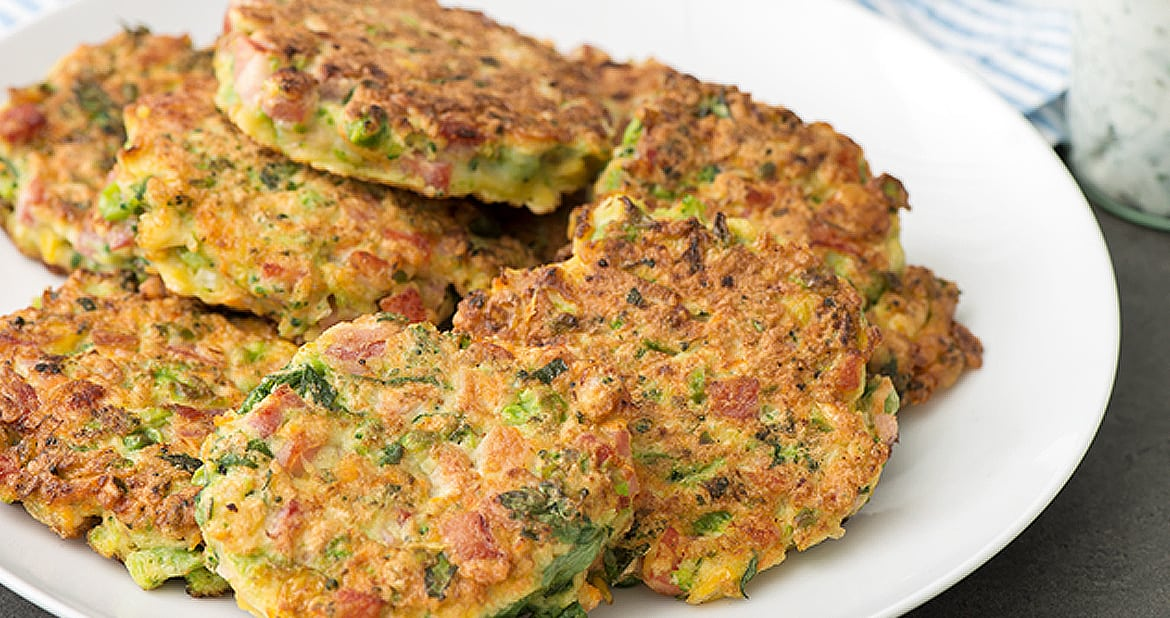 Easy Veggie Leftovers Fritters