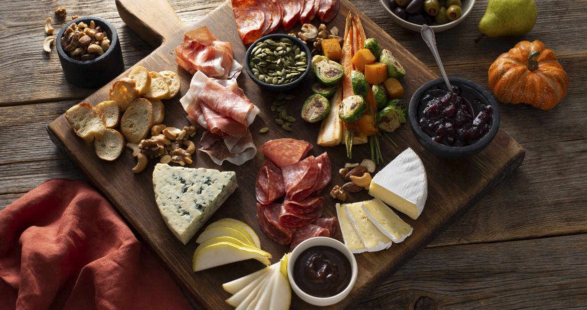 Fall-Inspired Charcuterie Board