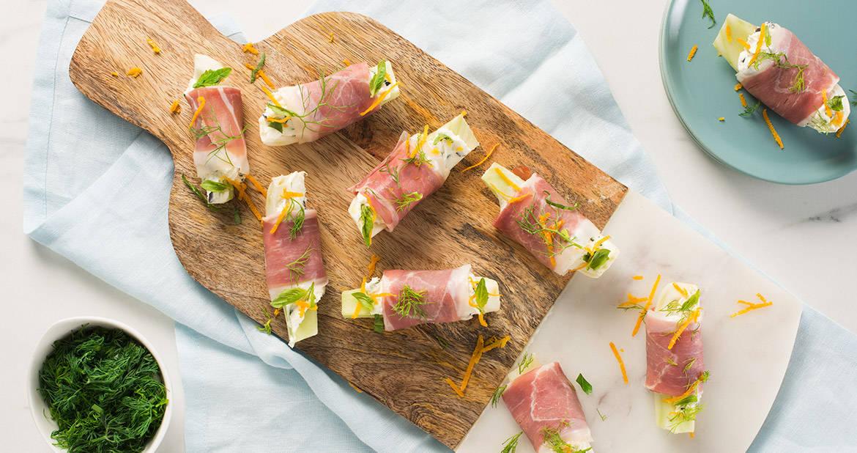 (FR) Fennel and Prosciutto Bites