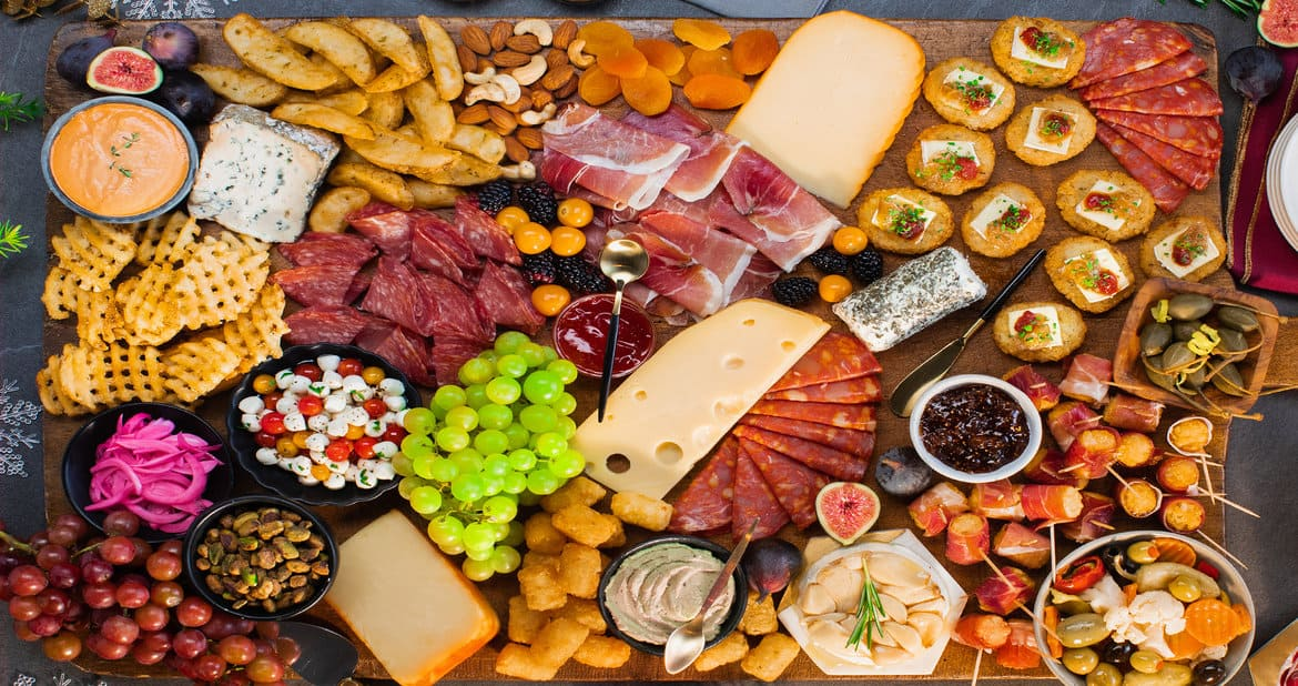Holiday Grazing Board by Mastro® San Daniele® and McCain®