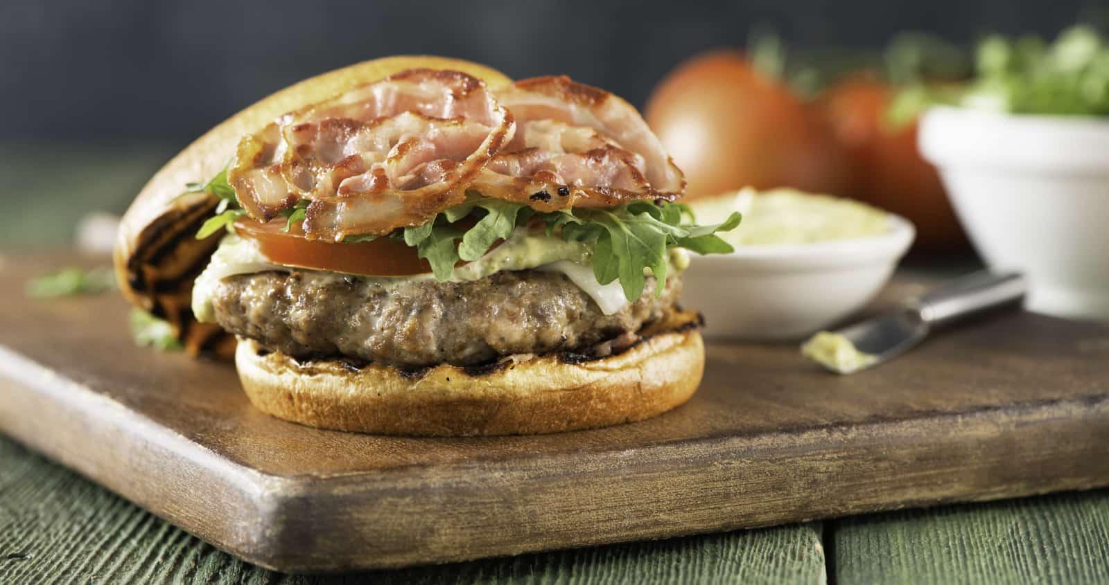 Burger Italian juteux