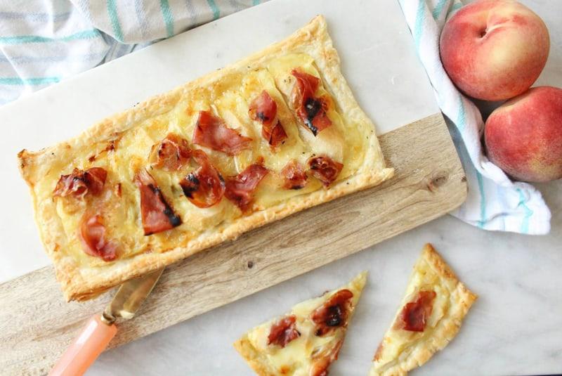 Mastro<SUP>®</sup> Prosciutto Cotto Peach Tart