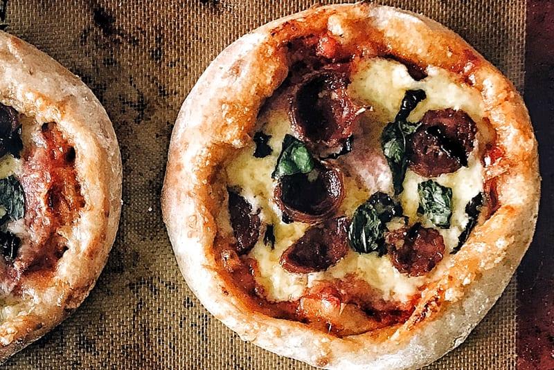 San Daniele<SUP>®</sup> Mortadella Cheese Stuffed Pizza
