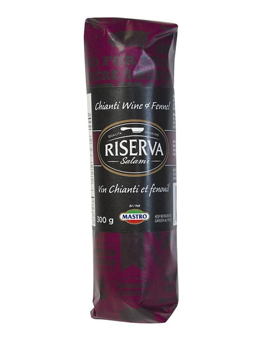 Riserva<sup>TM</sup> Chianti Wine and Fennel Salami