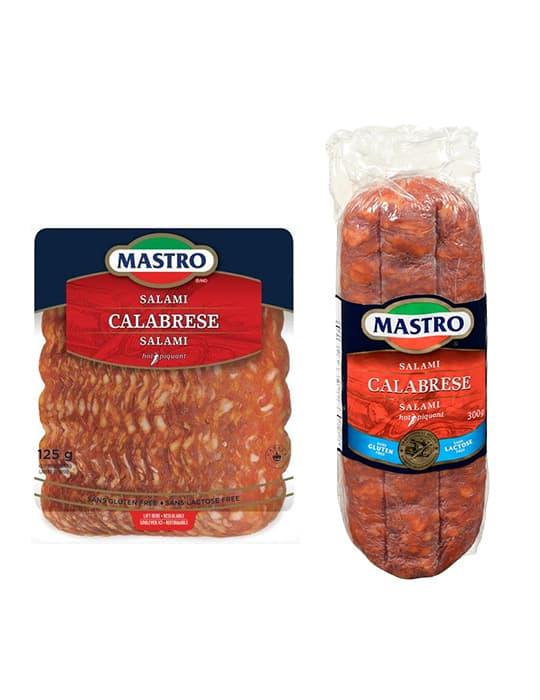 Salami Calabrese, piquant