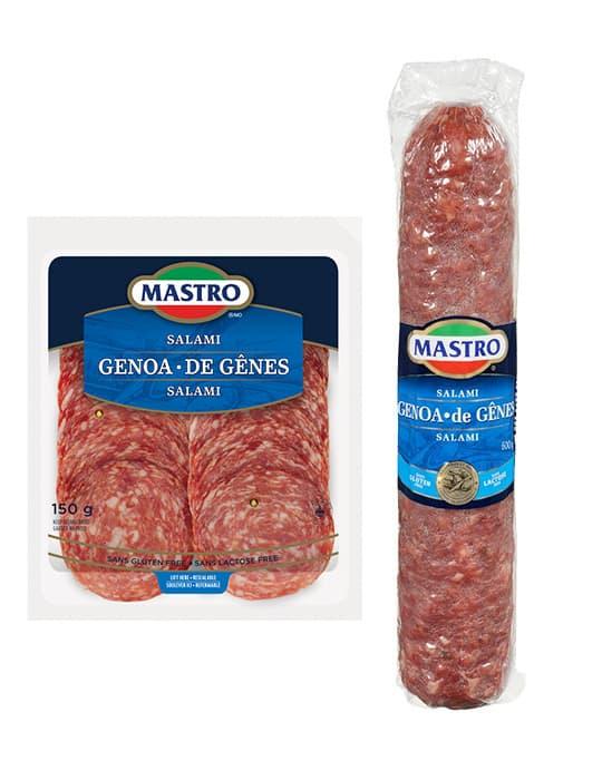 Salami de Gênes, doux
