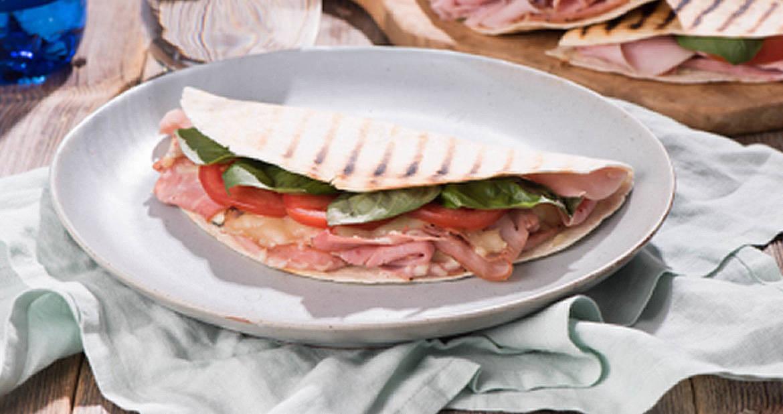 Caprese and Tuscan Ham Quesadilla