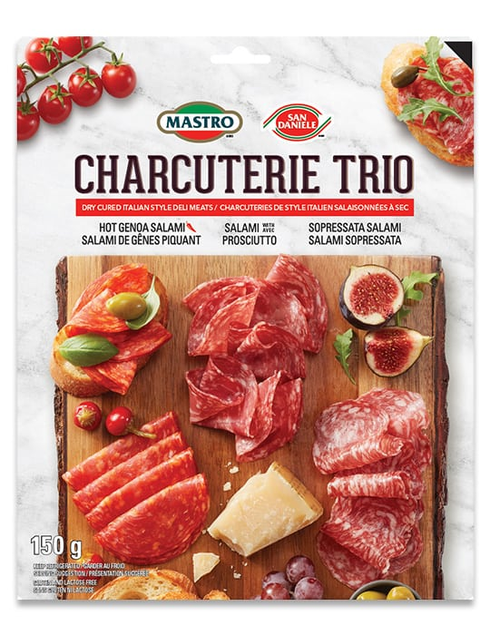 Mastro <sup>®</sup> and San Daniele<sup>®</sup>Charcuterie Trio Hot