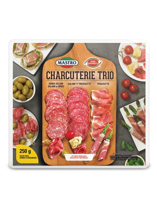 Mastro<sup>®</sup> and San Daniele<sup>®</sup> Charcuterie Trio Dry Cured