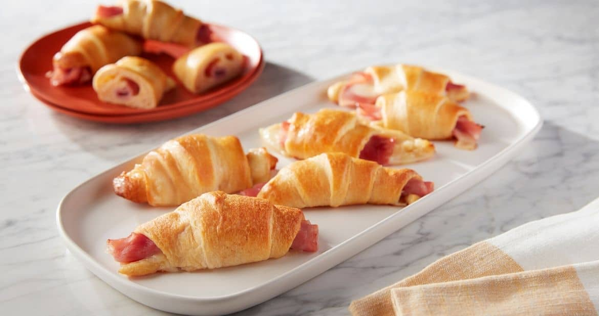 Prosciutto Cotto Cheesy Crescent Rolls