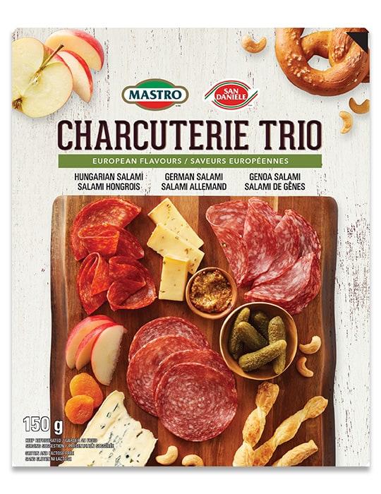 Mastro <sup>®</sup> and San Daniele<sup>®</sup>Euro Charcuterie Trio