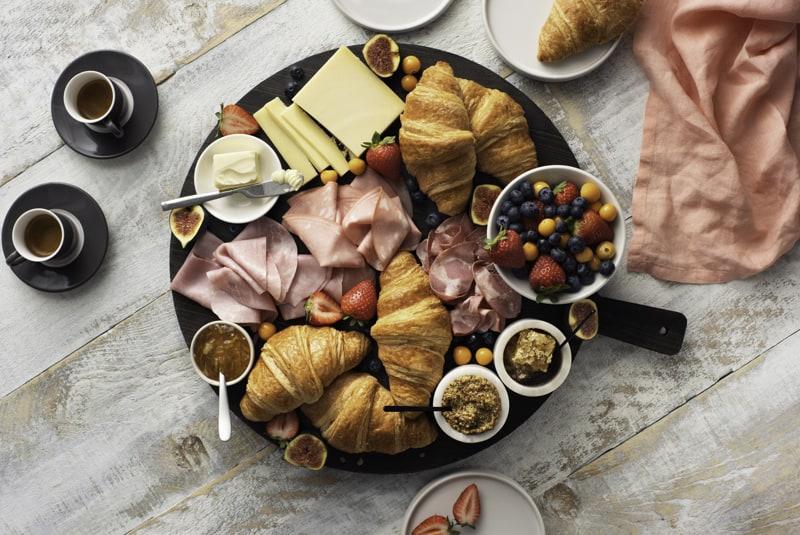European-Inspired Breakfast Board