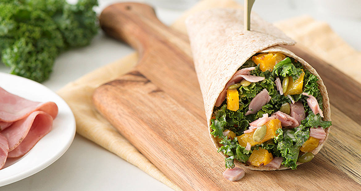 Harvest Caesar Capocollo Wraps