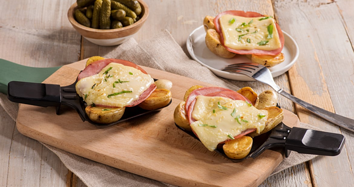 Raclette Potatoes with Capocollo