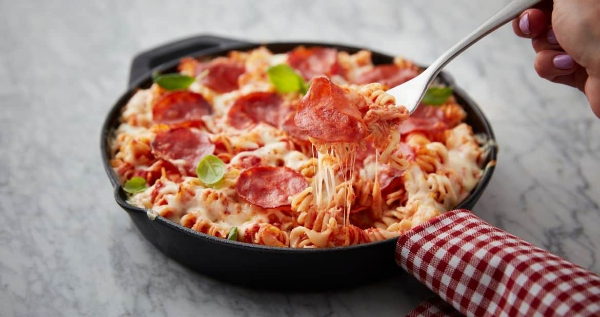 Mastro® Pepperoni Pizza Pasta Bake