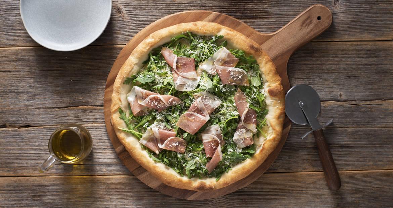 Prosciutto Pizza Bianco