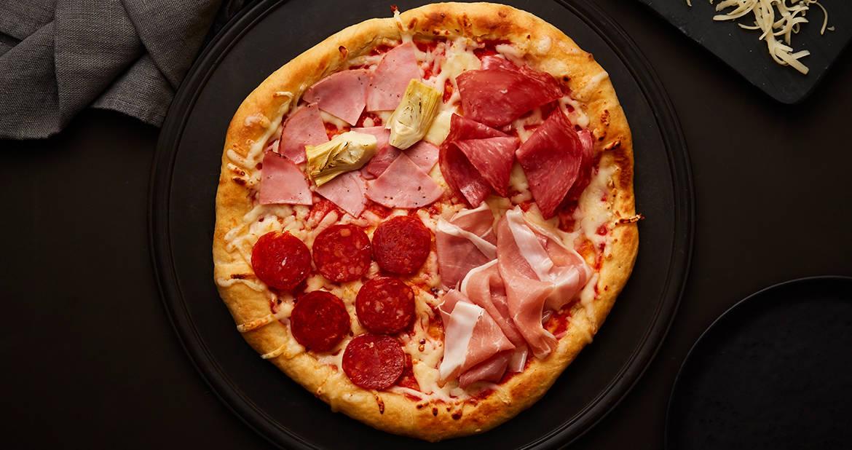 Pizza Quattro Stagioni Mastro et San Daniele
