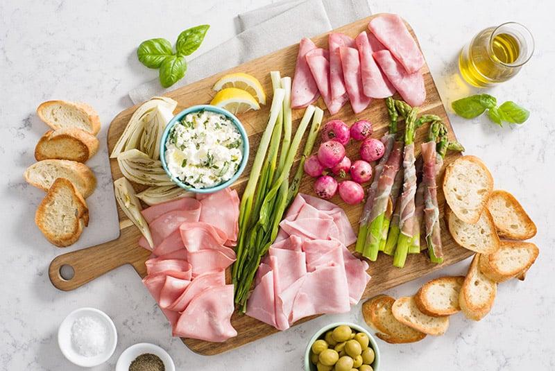 Spring Antipasto Platter