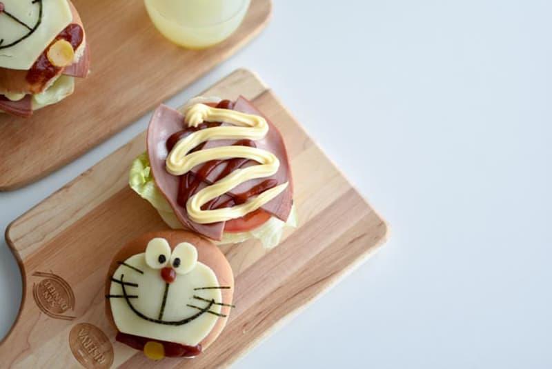 Burger Doraemon à la Mortadelle San Daniele<sup>MD</sup>