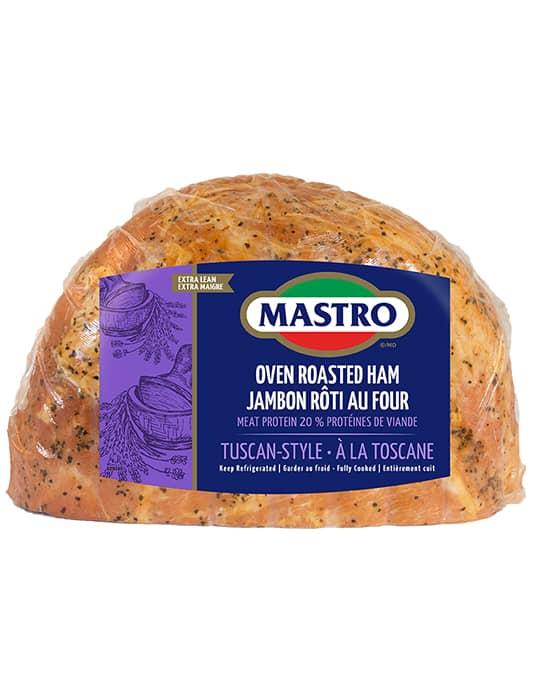 Jambon rôti au four à la toscane
