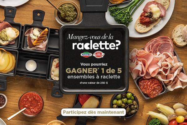 Raclette Contest entrer maintenant