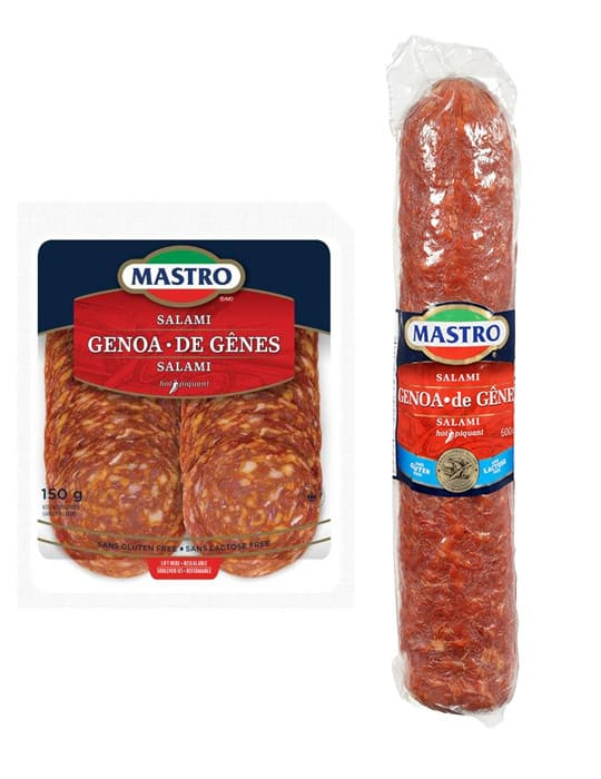 Hot Genoa Salami