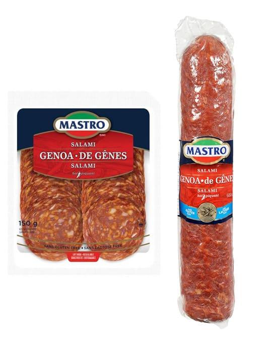 Salami de Gênes, piquant