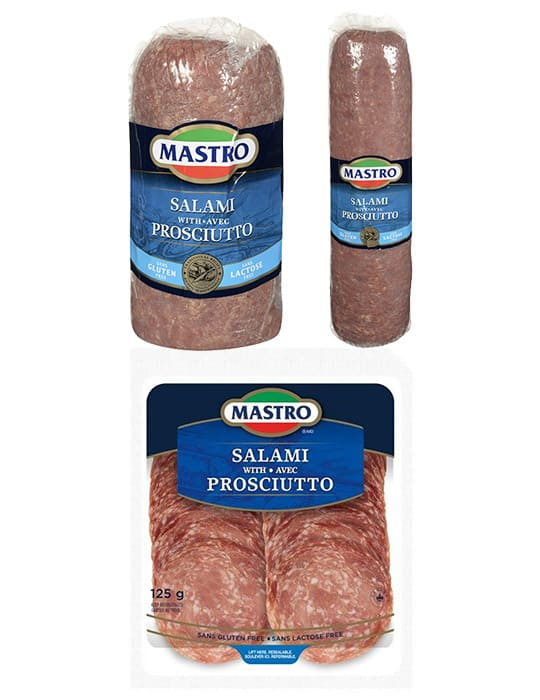 Salami with Prosciutto
